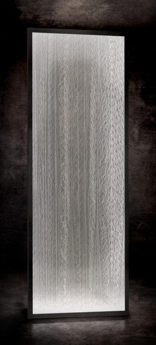 Plissé cascade blanc RÉF. B – 005