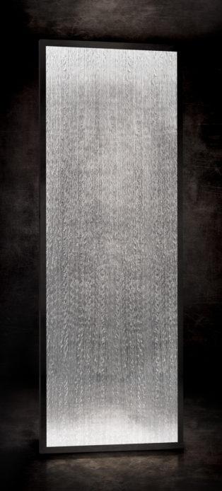 Plissé cascade grey ref b 015